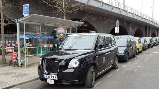 Britse taxi's