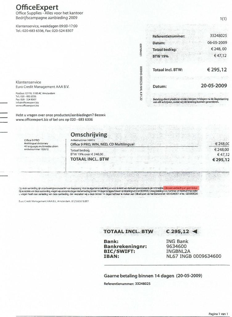 OfficeExpert.biz == zakkenwassers   RobIII   Tweakblogs   Tweakers