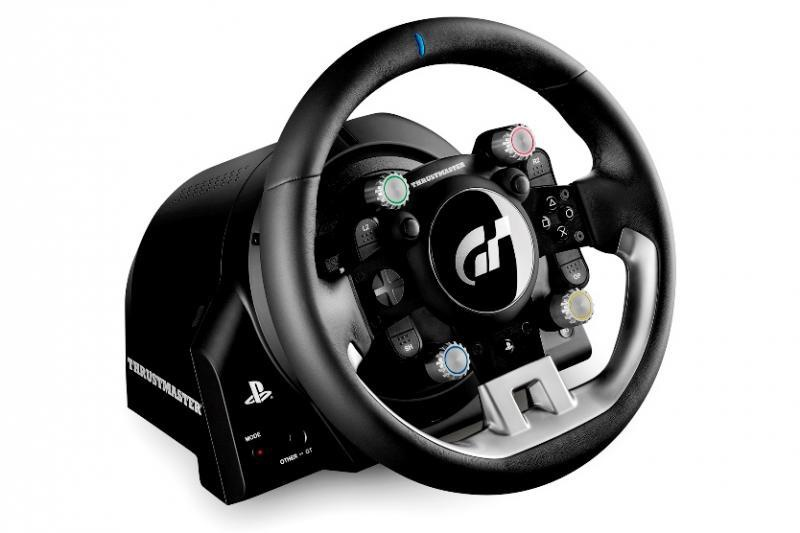 thrustmaster t gt racing wheel zwart prijzen tweakers. Black Bedroom Furniture Sets. Home Design Ideas