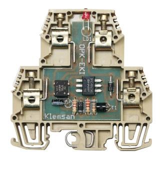 Klemsan OPK-EKI optocouplerklem