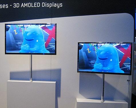 3d-tv op CES 2010