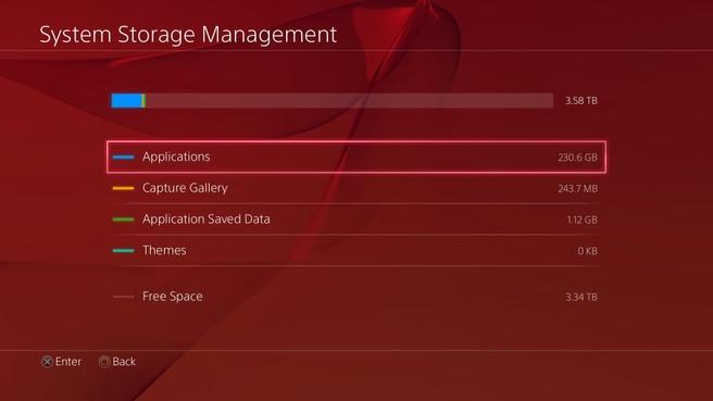 PS4 3.50 4TB