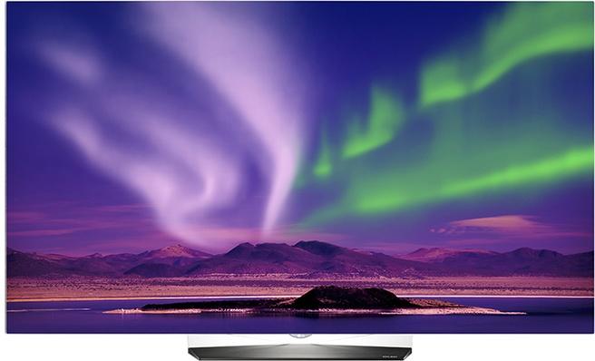 LG OLED55B6V Zwart