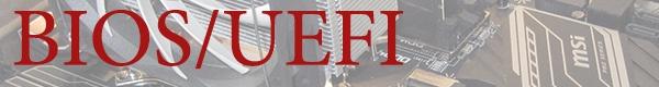 BIOS/UEFI