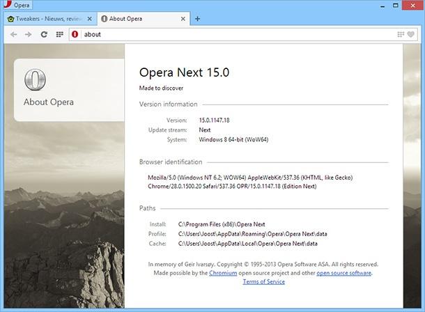 Opera 15
