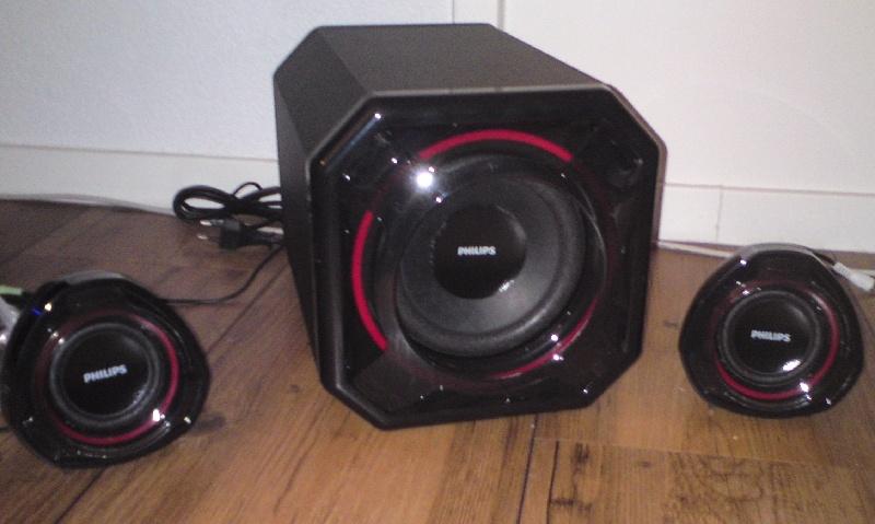 Totaalplaatje speakers