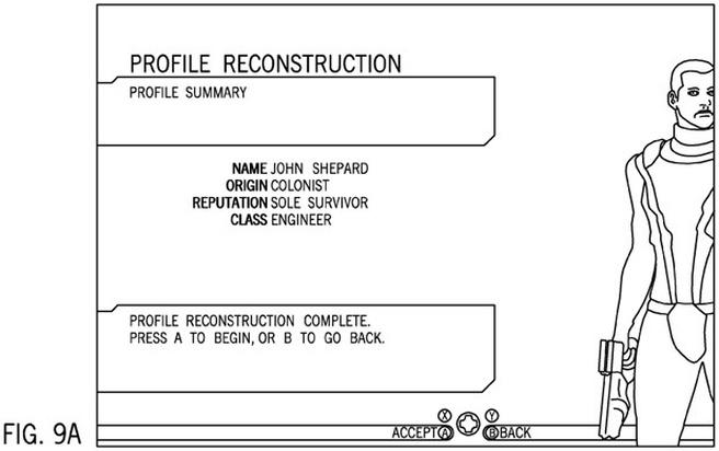 Patent Apple vertaalt game-keuzes naar stripboek