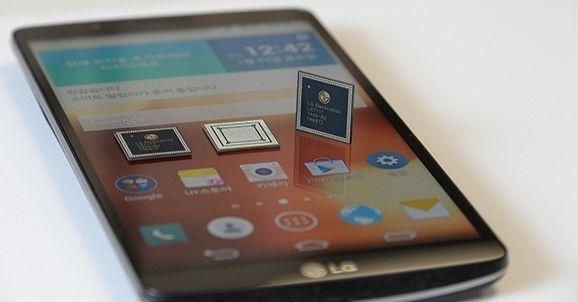 LG G3 Screen met LG Nuclun-soc