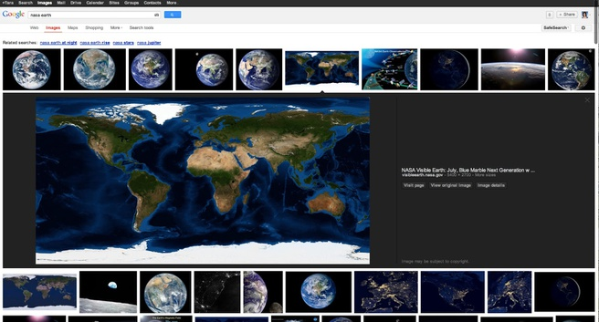 Google Image Search 2013