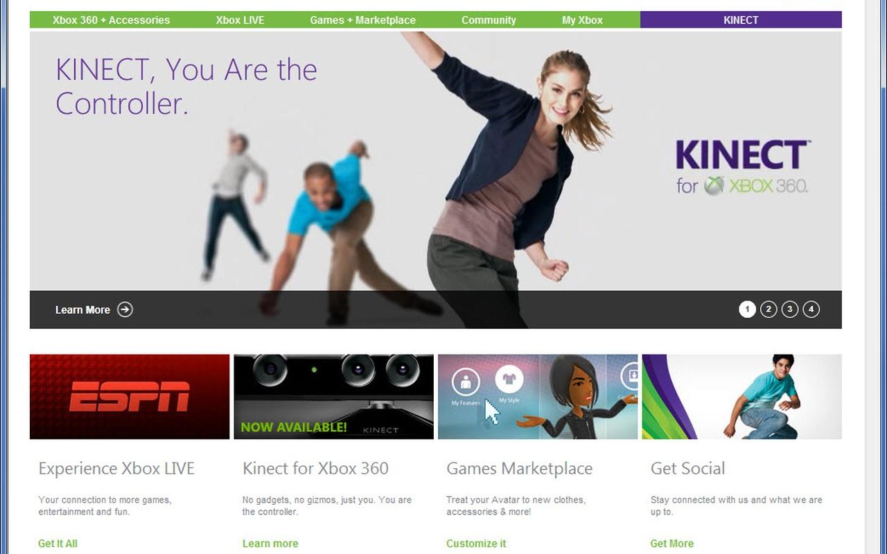 Microsoft geeft Xbox.com nieuw jasje