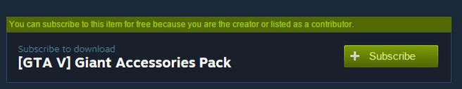 Steam Mod betaald abonnement