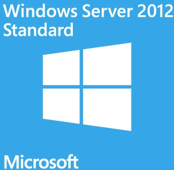 Microsoft Windows Server 2012 Standard, x64, 2CPU/2VM, OEM, CZE