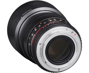 Samyang Optics 85mm T1.5 VDSLR AS IF UMC II