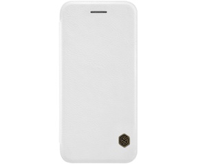 "Nillkin Qin PU Leather Book Case - Apple iPhone 7 (4.7"") - Wit"