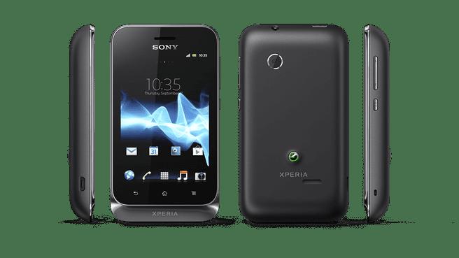 Sony Xperia tipo dual Zwart