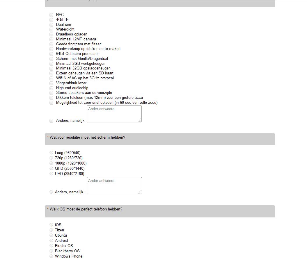 vragenlijst