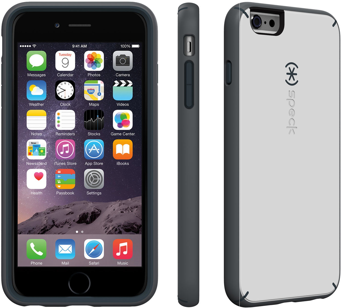 super popular ed217 dfcac Speck MightyShell (iPhone 6s Plus) Wit