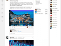 Nieuwe Google+ interface
