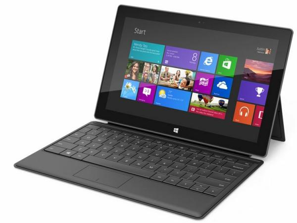 Microsoft Surface Pro 128 GB + Touch Cover Zwart
