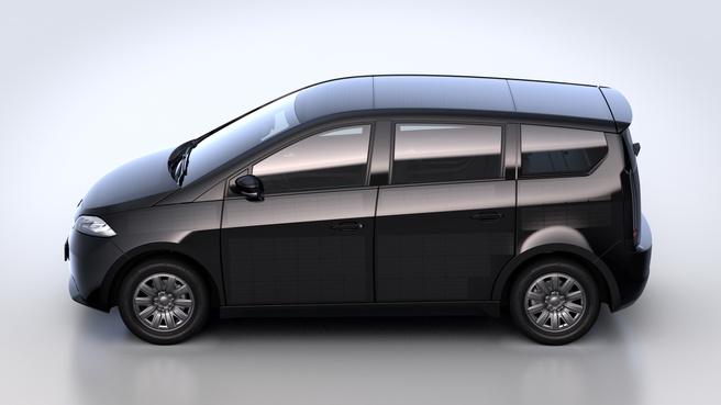 Sono Motor Sion zonnepanelenauto