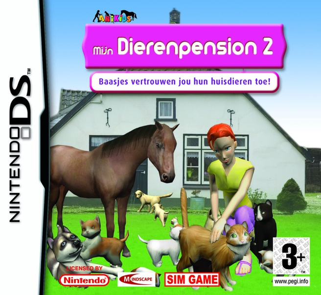 Mijn Dierenpension 2  NDS, Nintendo DS