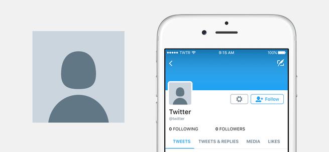 Twitter nieuw icoon