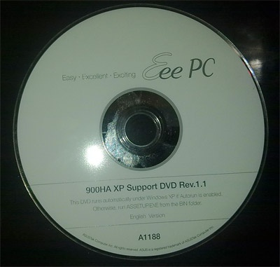 Asus recovery dvd