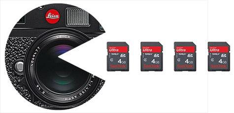 Leica M9 datacorruptieprobleem Sandisc sdhc-kaartjes
