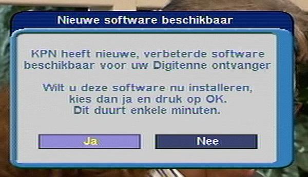 Software-update Topfield TBC-5000 Digitenne Recorder van KPN