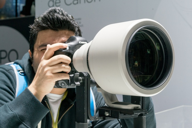 Canon 600mm DO BR prototype