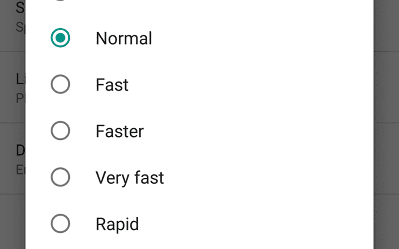 Android N text-to-speech