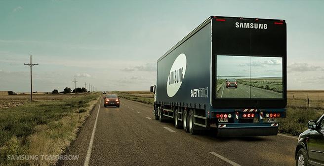Safety truck van Samsung