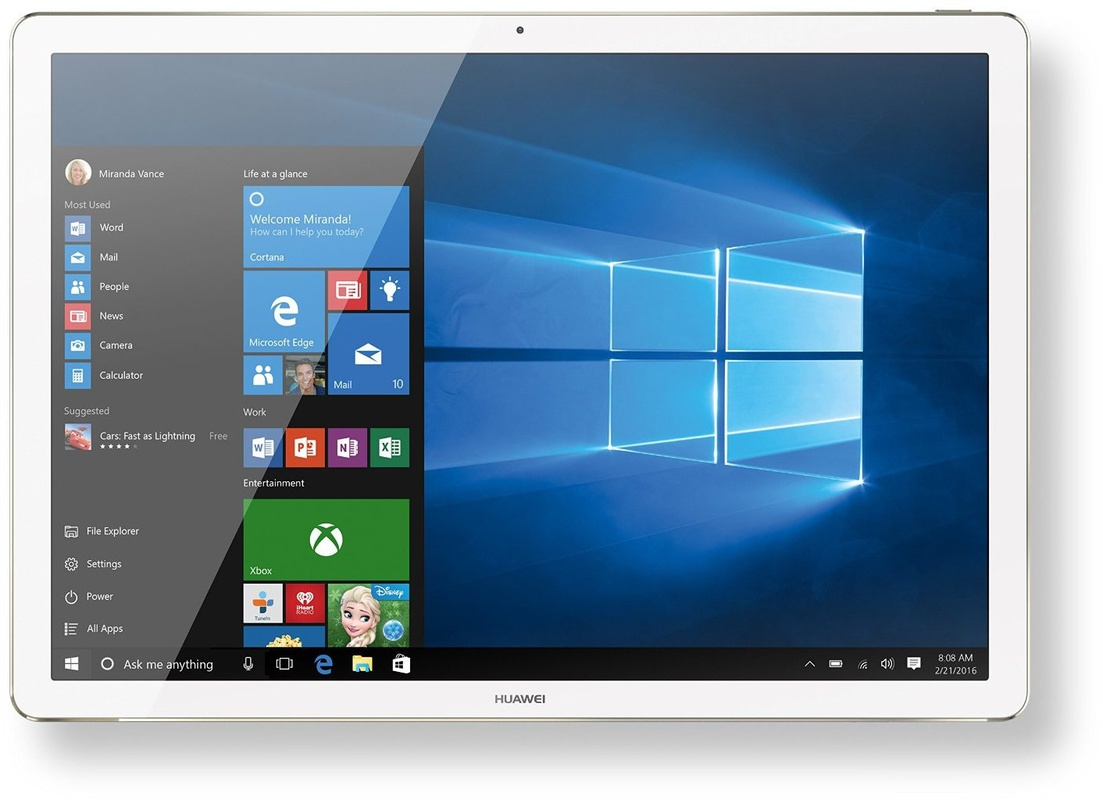 huawei matebook core m3 4gb 128gb win 10 home zilver specificaties tweakers. Black Bedroom Furniture Sets. Home Design Ideas
