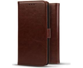 Rosso Element Samsung Galaxy S7 Edge Hoesje Book Cover Bruin (Samsung Galaxy S7 Edge) Bruin