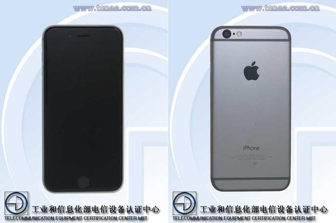 iPhone 6 Tenaa