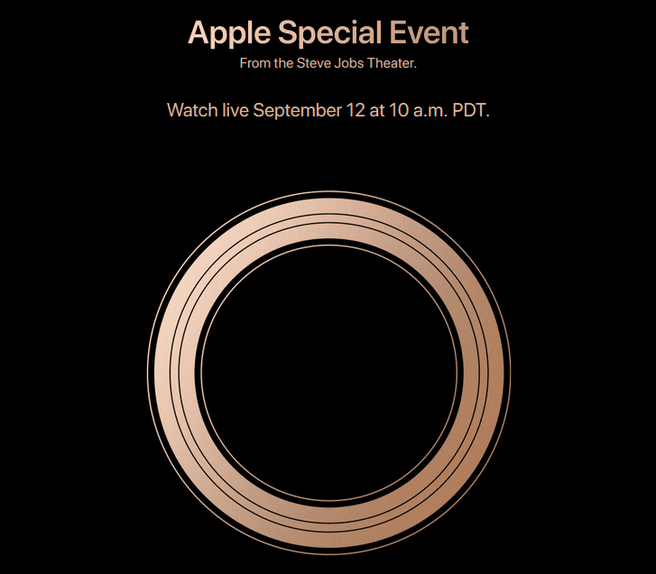 Apple Event 12 september 2018