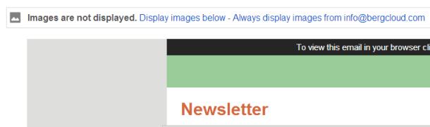 Afbeeldingen in Gmail