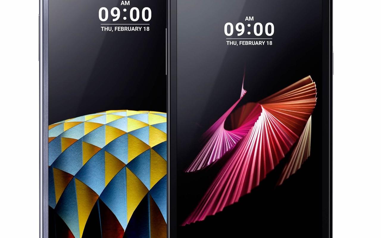 LG X screen en X cam smartphones