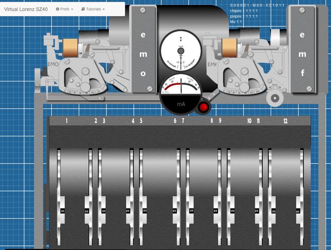 virtuele lorenz-machine