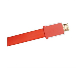 One / X Originele Micro USB data + oplaadkabel 1 Meter - Rood