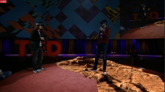 Hololens Mars-demo TED Talk