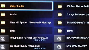Samsung PS51D8000 Mediaspeler