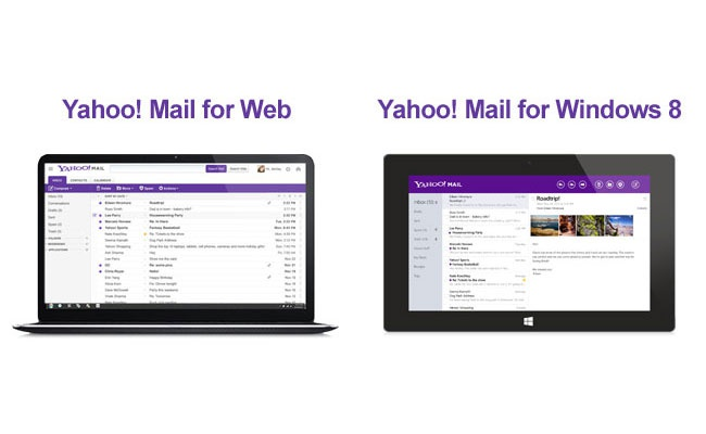 Yahoo -- nieuwe e-mailinterface