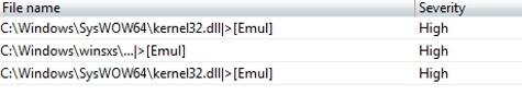 Avast foutmelding kernel32.dll