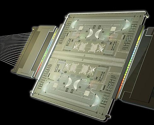 Photonic integrated circuit, of pic