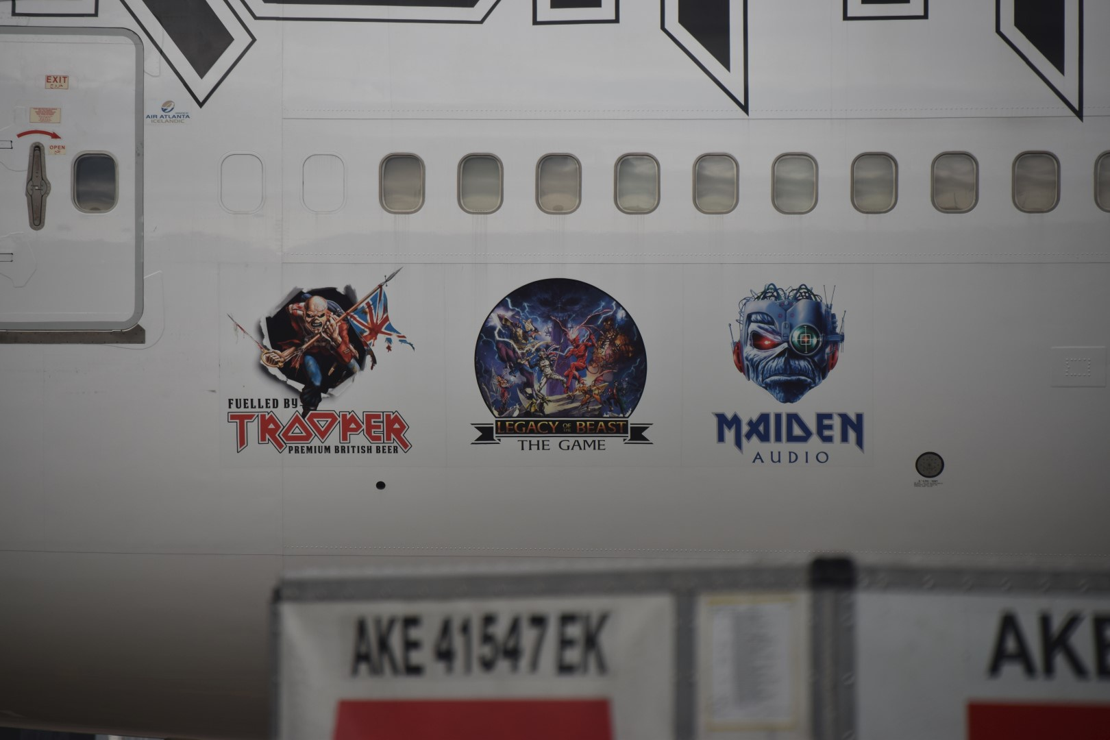 Iron Maiden - Ed Force One - Schiphol, Amsterdam (10)