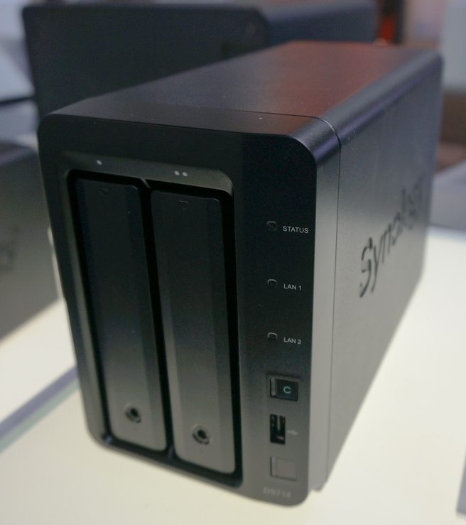 Synology DS714 Cebit 2013
