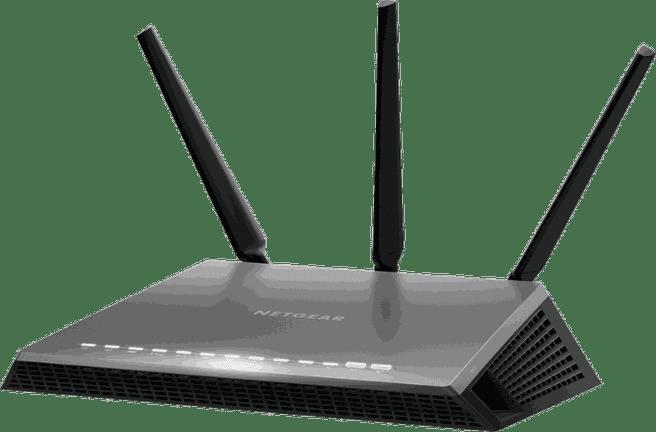 Netgear Nighthawk AC1900 ADSL/VDSL Modem Router 1.900 Mbit/s Dualband 2x USB 3.0 VPN 4x Gigabit Ports - Annex A - black