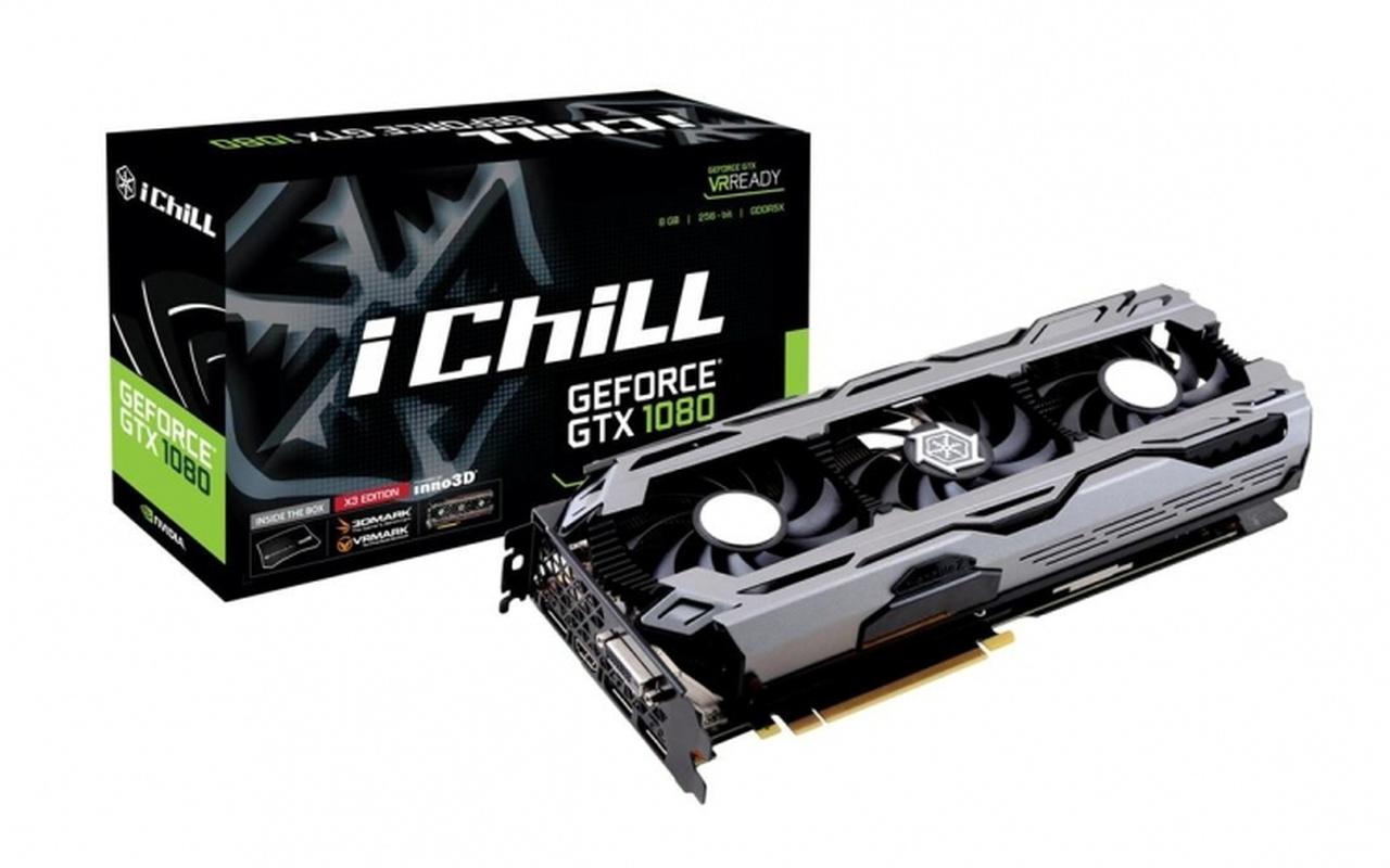 Inno3D GTX 1080 iChill X3 X4