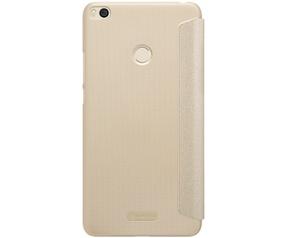 Nillkin Sparkle PU Leather Book Case voor Xiaomi Mi Max 2 - Goud Goud